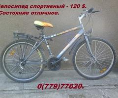Велосипед спортивный-120$