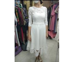 Платье слоновой кости