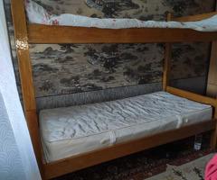 Двухъярусная разборна кровать