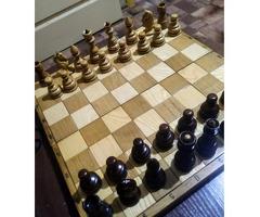 Шахматы ручная работа.